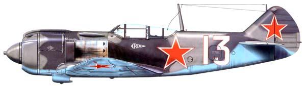 Боевое применение Ла-5ФН