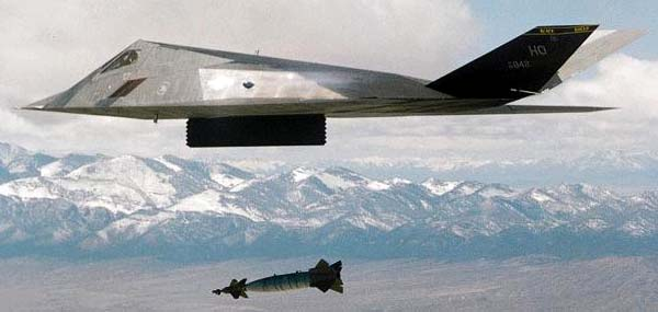 Ударные самолеты F-117 в войне против Ирака