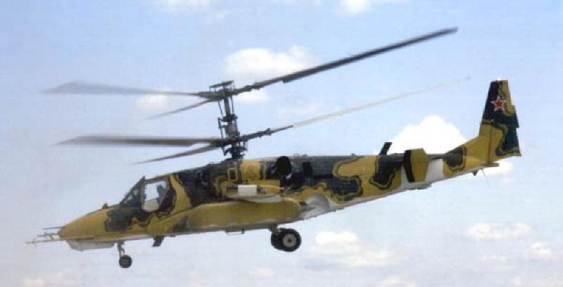 Боевая авиация россии вертолет ка 50