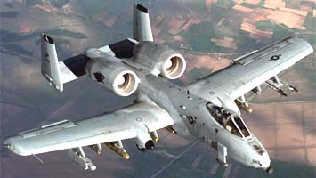 Авиация штурмовики a 10 thunderbolt ii