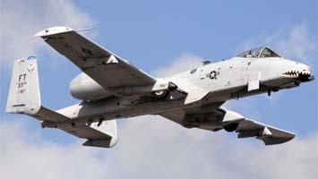 Авиация штурмовики a 10с thunderbolt ii