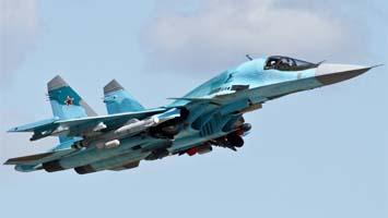 Новый фронтовой бомбардировщик Су-34