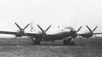 Ту-4 (Б-4) - первый опытный образец самолета.