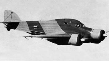 Тип скоростной бомбардировщик