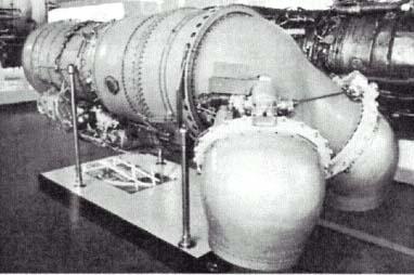 Тип турбореактивный двигатель