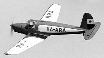 Модель.  1938. Год.  Многоцелевой тренировочный самолет.