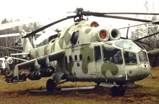 Серийный Ми-24А