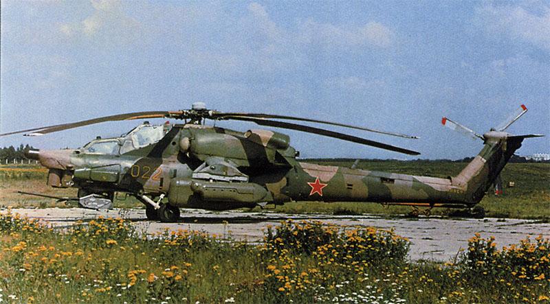 Вооружение Ми-28 состояло из несъемной подвижной пушечной установки НППУ-28 с мощной пушкой 2А42 калибра 30 мм...