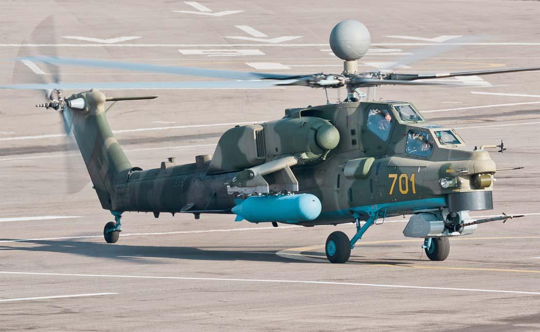 СМИ: Ми-28НМ «Ночной Охотник» прибыл в Сирию
