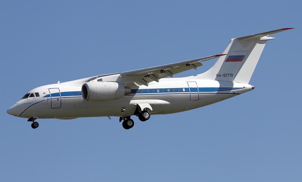 В Киеве совершил первый вылет региональный реактивный самолет АН-158