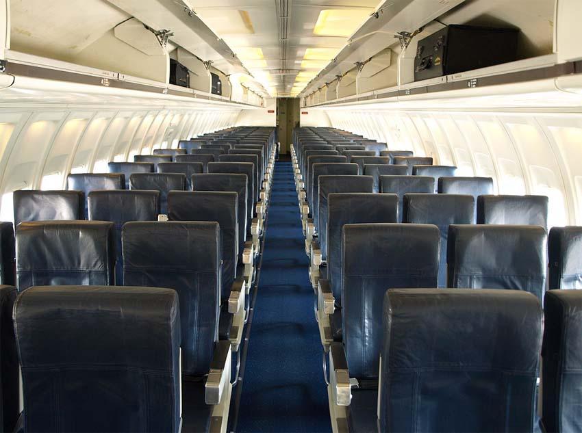 Boeing 737-200 схема салона