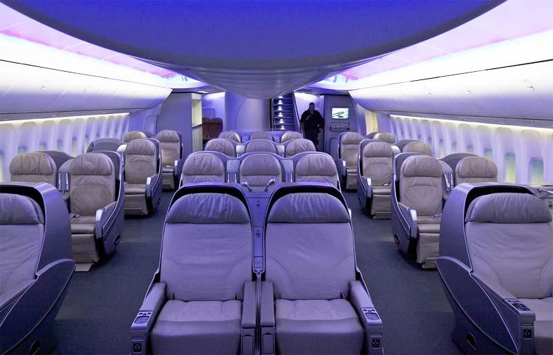 Боинг 747 400 фото салона
