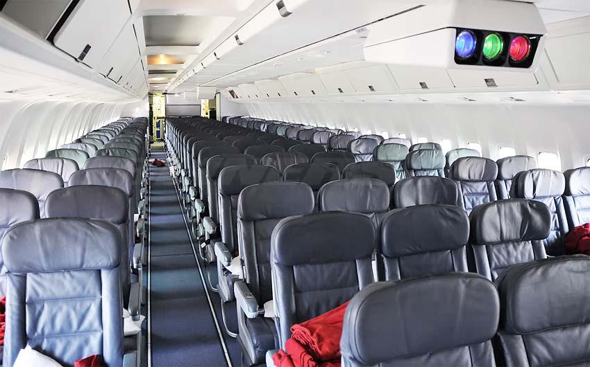 Боинг 767 300 фото салона