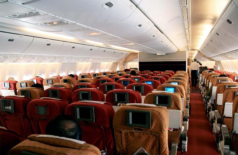 Boeing 777 фото салона