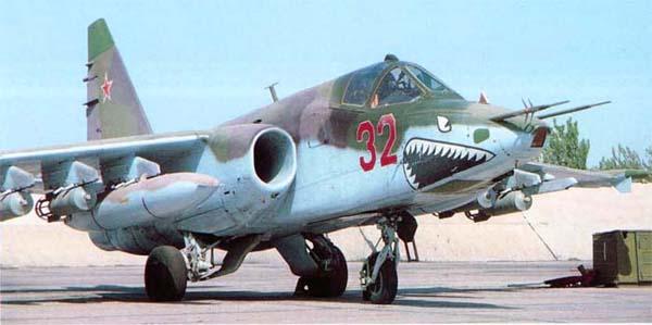 Серийный Су-25