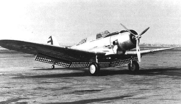 Cours d'histoire avions US exotiques  A17-6