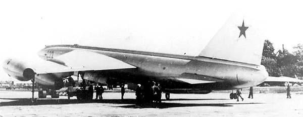 М 50 во время показательного полета