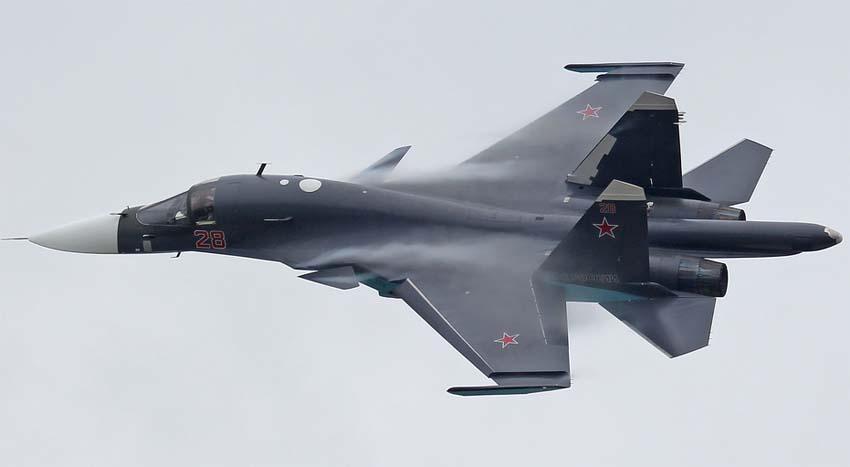 Строевой Су-34 (в новой