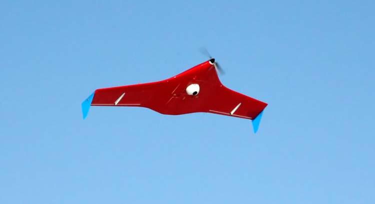 Трассы Новосибирской области в 2011 году возьмут под наблюдение беспилотные летательные аппараты. Zala421-04m-2