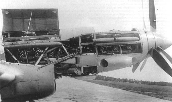 Спарка двигателей М-103 на самолете Болховитинова.