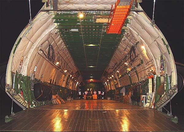 Грузовой отсек Ан-225