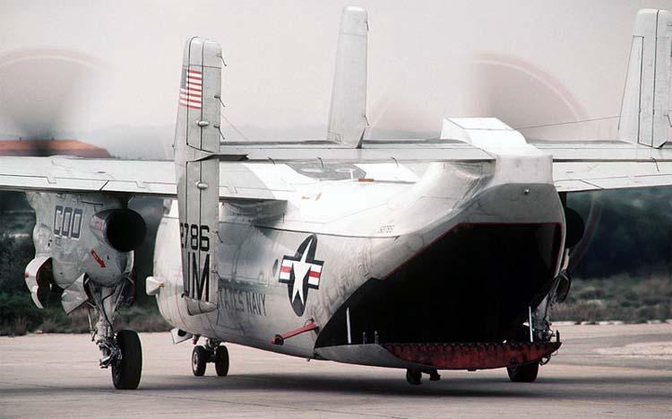 C 2a Greyhound Logistics Aircraft Grumman C-2 Greyhound