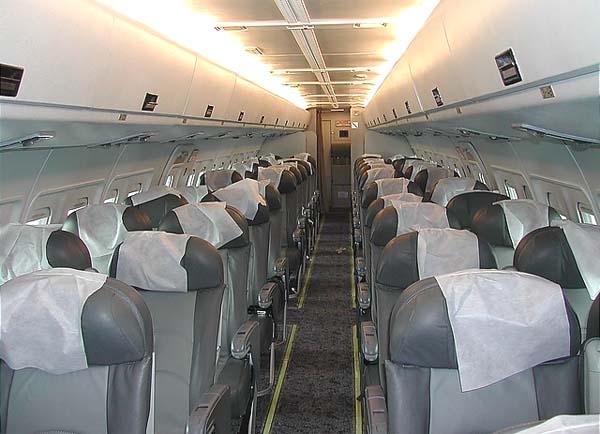 Пассажирский салон Ил-114