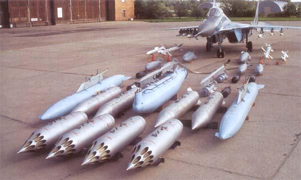 """Арсенал МиГ-29 (""""9-13"""")"""