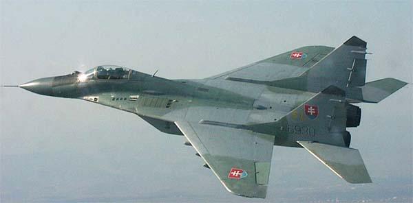 МиГ-29 ВВС Словакии