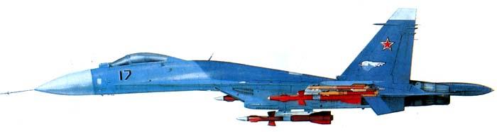 Т-1017. Серийный Су-27