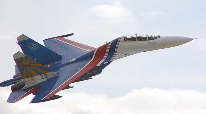 """Су-27 пилотажной группы """""""