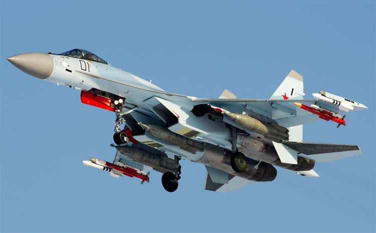 Orosz légi és kozmikus erők Su35bm-4