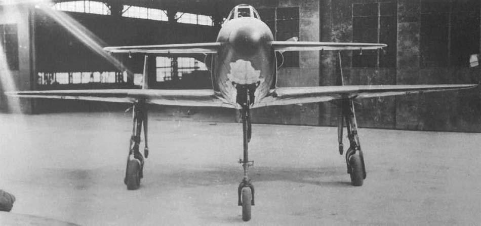 Японский перехватчик J7W Shinden (1943-1945гг)