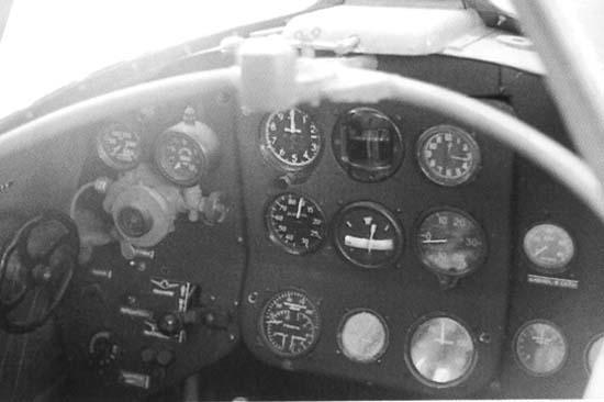 Приборная доска Як-3