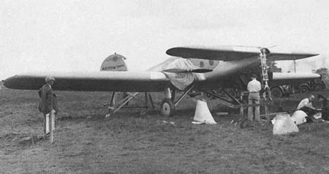 FT-9 после аварии