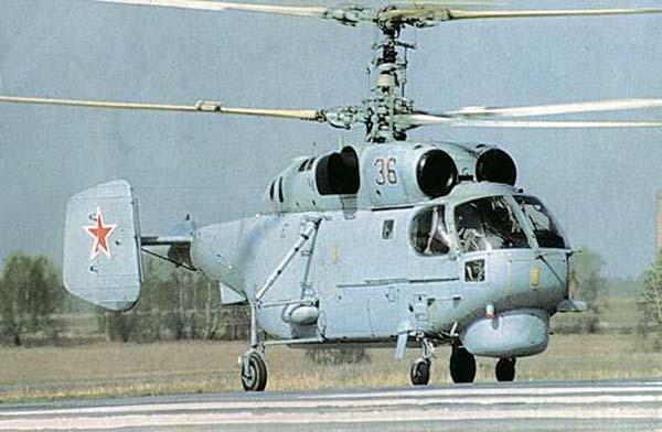 Ка-27ПЛ готовится к взлету
