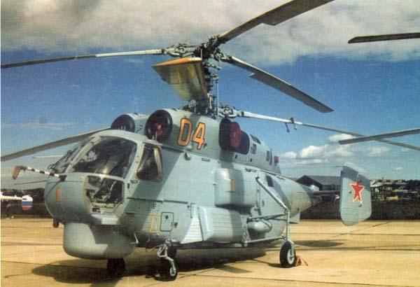 Ка-27 на авиавыставке