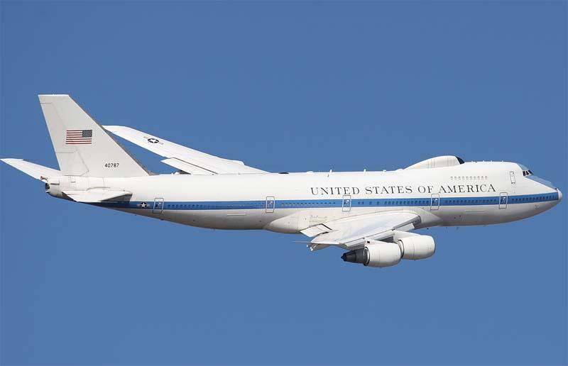 Самолет Судного дня США
