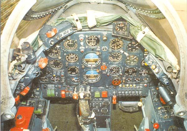Приборная доска кабины пилота