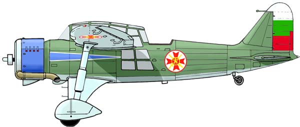 Kaproni Bugarski KB-11 Fazan Kb11-c1