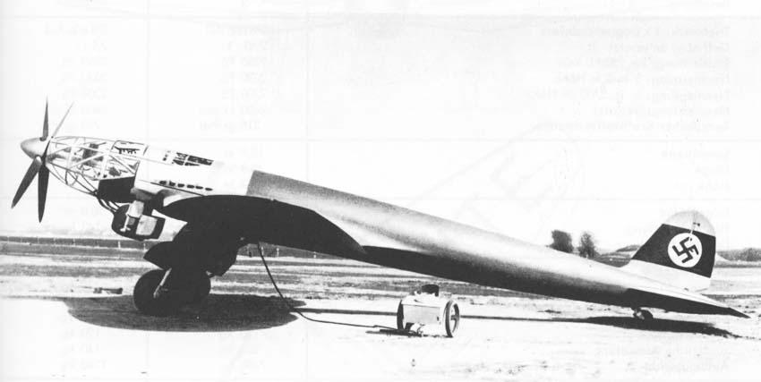 Heinkel He 119 V4 (Planet Models 1:72) He119-1