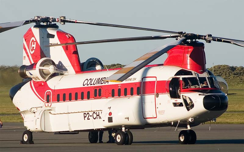 Boeing Vertol Boeing 234 Commercial Chinook