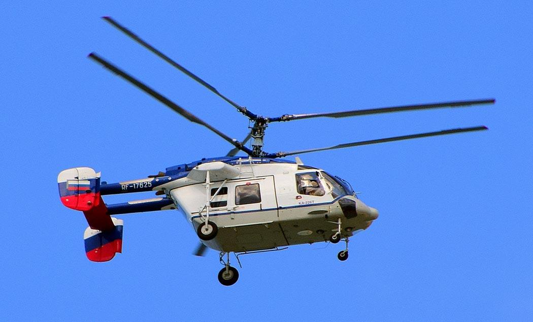 Десяток вертолётов и несколько