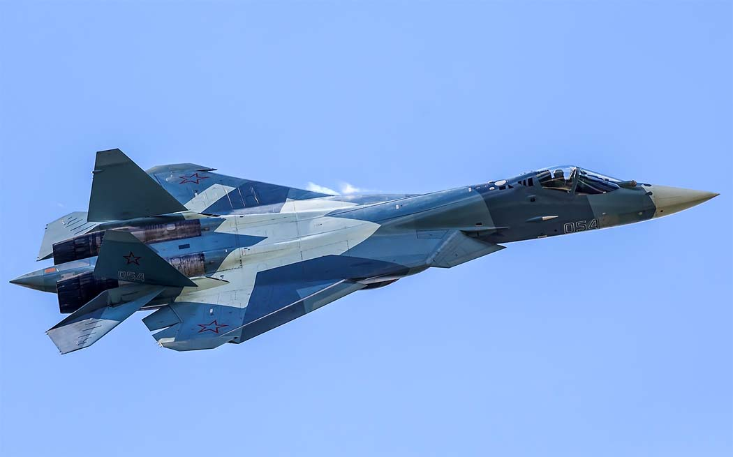 New Russian fighter T-50