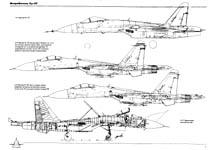 Необходимо было учесть, что назначение создаваемого самолета - борьба за превосходство в воздухе и что тактика.