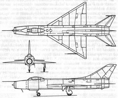 Схема серийного Су-9