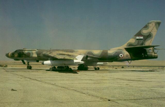 Ракетоносец Ту-16К-11-16 ВВС Египта Badger-G mod.